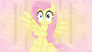 FlutterShock Wallpaper by SailorTrekkie92