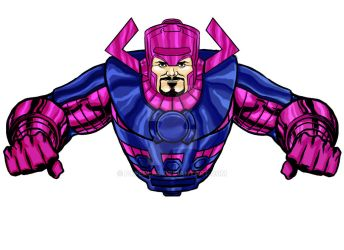 Galactus by paperlab