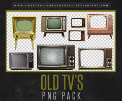 Old TV's | PNG by sweetpoisonresources
