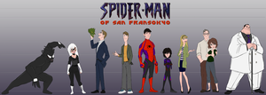 Day 153 - Spider-Man of San Fransokyo by Percevanche