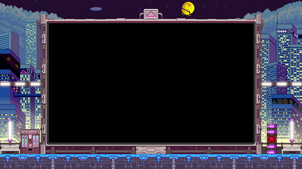 Iconoclasts Super Game Boy Wallpaper Nighttime by ScepterDPinoy