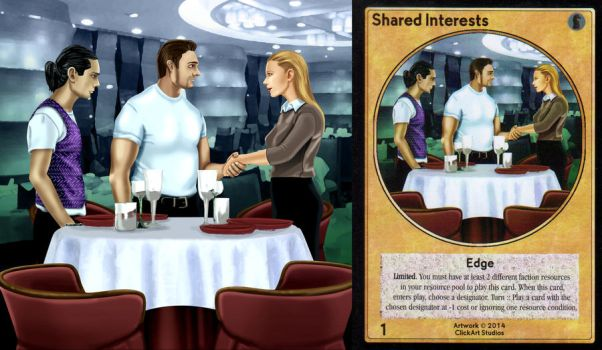 Shared Interests Card by castortroy3497