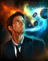 10th Doctor - Doctor Who by Ayeri