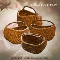 Basket by cindysart-stock by CindysArt-Stock