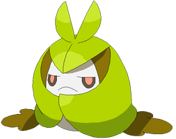 Shiny Swadloon - Pixel Over- by mizuxhime