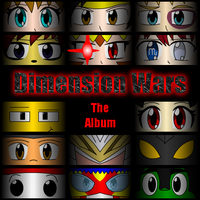 Dimension Wars Album Cover by crimson-bakeneko