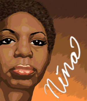 Nina Simone by maddwitch