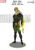 Iron Fist by Kyle-A-McDonald
