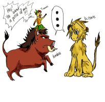 Link_on_lion by sho-hei