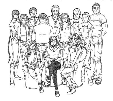 Old squad now by Cafla