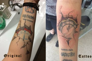 Internal Time Tattoo by Sorren-Chan