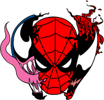 Spiderman symbiotic relationships by AlanSchell