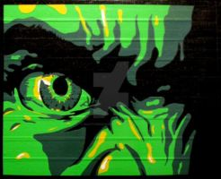 Hulk Duct Tape Art by DuctTapeDesigns