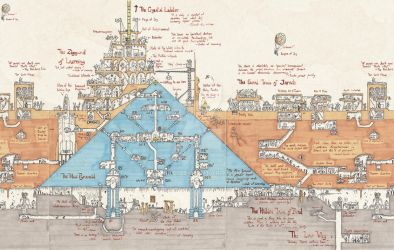 Map of the Blue Pyramid by Lukc