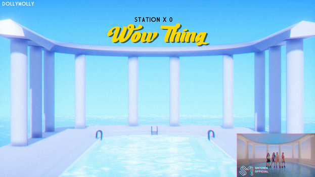 [MMD] Wow Thing - STATION x 0 (STAGE POOL DL) by DollyMolly323