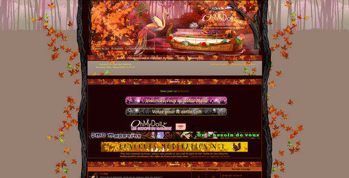 Autumn Theme for OMD Board by tchat-irc-omd