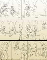 Chapter 11 page 10 sketch by FlyingPony