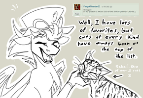 Question 3: Favorite Animal by CoffeeAddictedDragon