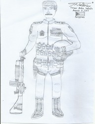 Early Character Design - PLAYER 1 by tambok0599