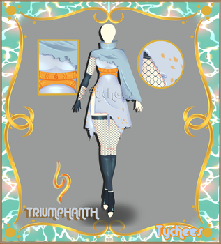 Outfit Adoptable (Auction) #40 VAULT!!! [Season 1] by Tychees