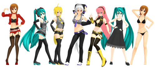 Drag Race Promo Poses DL by Theshadowman97