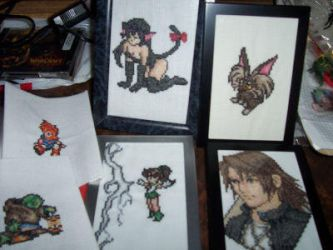Misc Cross Stitch by Sirithre