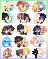Love Chibidango Collection II by Jusace