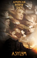 American Horror Story - Asylum (Poster) by Panchecco