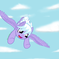 Cloudchaser by GammaEspeon