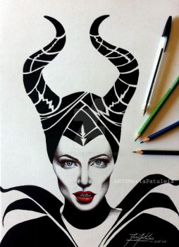 Maleficent by MaryCloe