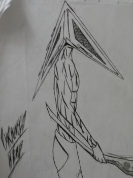 Pyramid Head by Pink-Boo