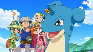 Bonnie appeared The the for that Lapras Defense!.