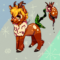 Reindeer bab by royalshame