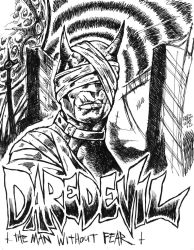 Daredevil The Man Without Fear by ragzdandelion