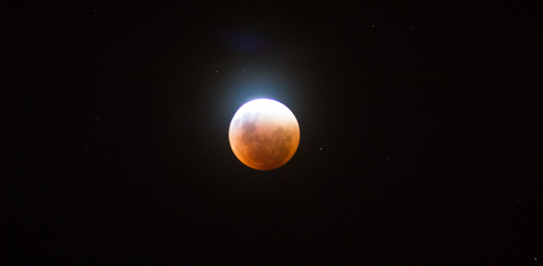 Supermoon Eclipse by lBlanc