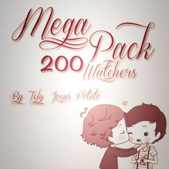 MegaPack 200 Watchers :) by TefyJonasPotato
