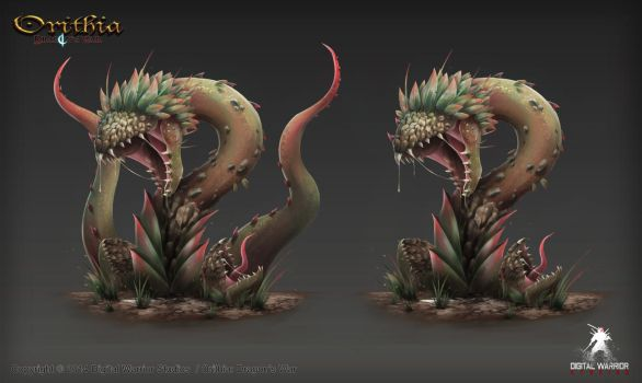 Creature Concept by DJBshadow