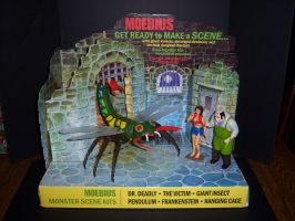 Monster Scenes Store Display by MisterBill82
