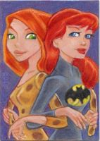 Kim and Babs BFF by LEXLOTHOR