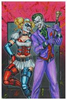 THE JOKER AND HARLEY QUINN by AHochrein2010