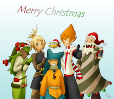 Merry Christmas Wakfu by Maiden-Chynna