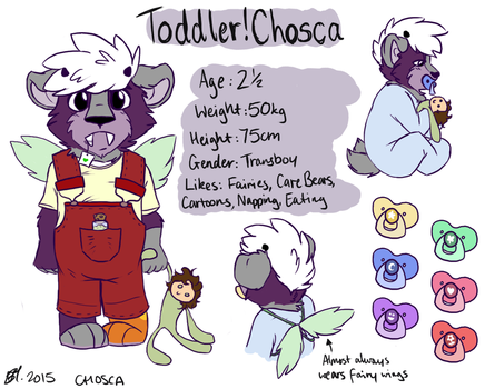 Toddler!Chosca Ref by Choscaa