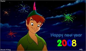 Happy new year - Peter Pan by Skippydippi