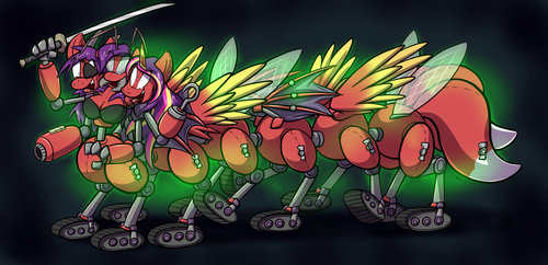 Princess Hotcakes' True Form by Virmir