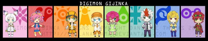 - Digimon Gijinka - by kailana-sama