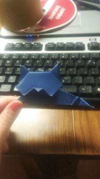 Origami Origami Cat by Enderpony626