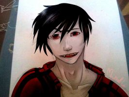 Marshall Lee (collab) by JovaArt