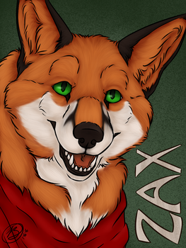 [ commission ] Zax Badge by simplytresca