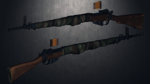 [MMD] Lee Enfield No.4 custom (ripped)(WIP) by AbyssLeo