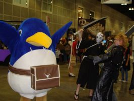 +RAWR+ the angry Prinny by blueheart29
